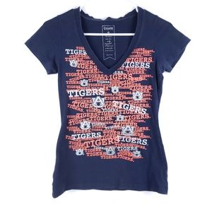 Campus Couture Auburn Tigers T Shirt Size Small